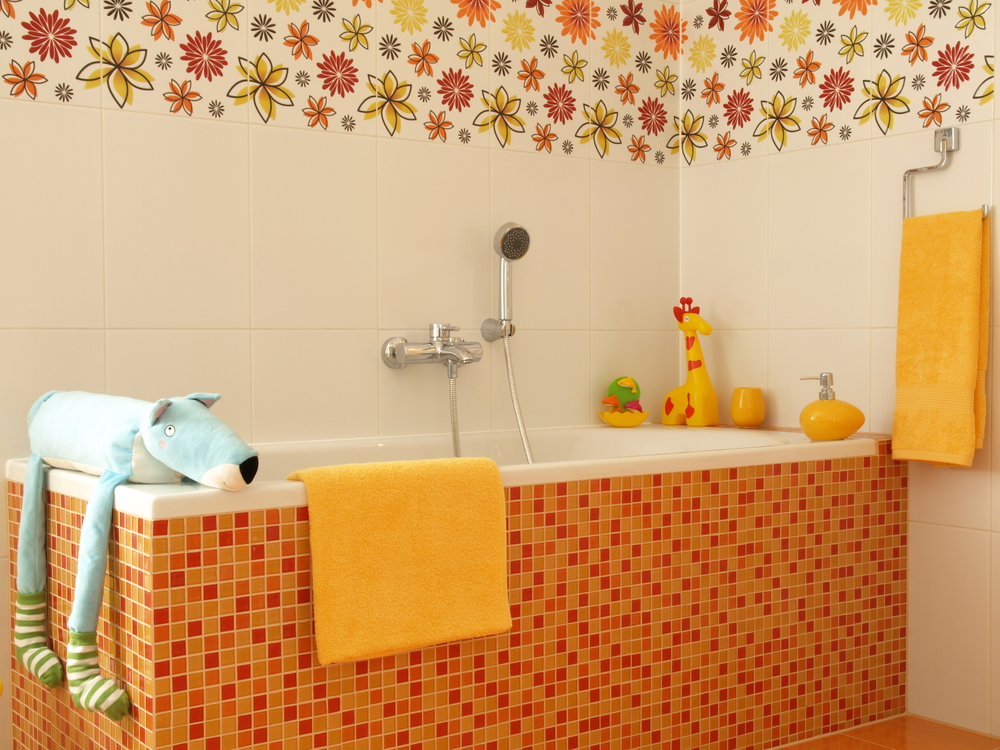 How to Decorate a Bathroom for Kids
