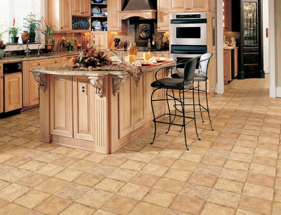 Vinyl is stylish and affordable and can mimic just about any kind of flooring that exists across the world.