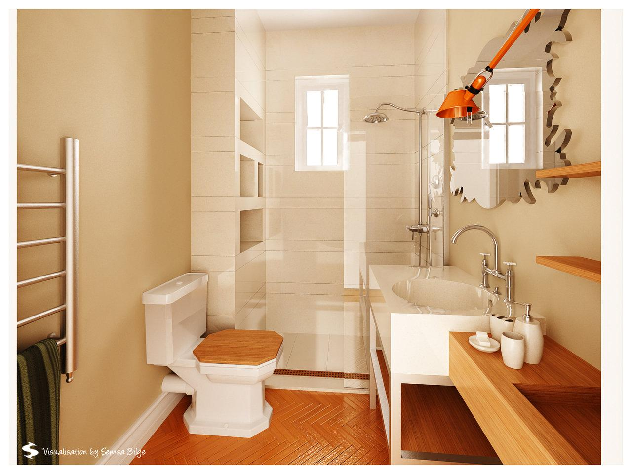 luxurious-small-wooden-bathroom