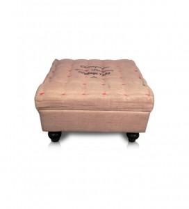 New Jute Footstool
