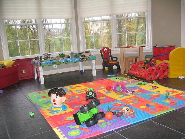 Storage Idea for Kids Playrooms