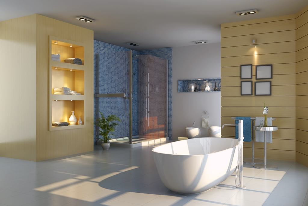 The bathroom doesn't have to be purely functional, it can also be a source of inspiration and an environment that can revive and invigorate your body and mind.